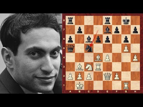 Mikhail Tal - with White at the 1966 Havana Olympiad Magician! (Chessworld.net)