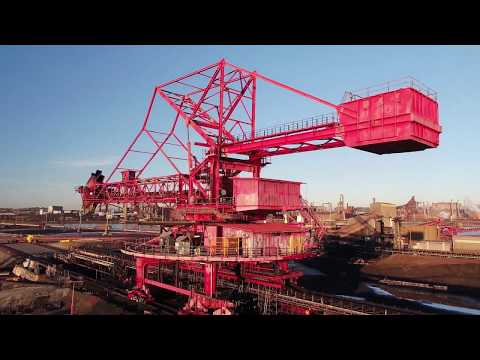Explosive Demolition of Port Kembla Coal Terminal Reclaimer
