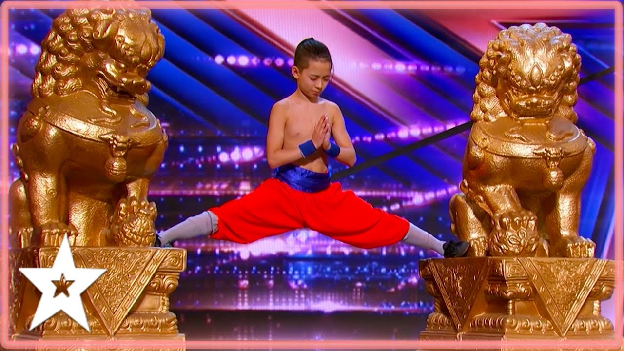 Father & Son AMAZE Judges With Their KUNG FU Performance on America's Got Talent | Kids Got Talent
