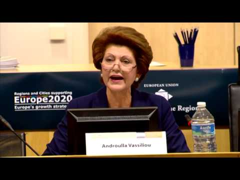 Commissioner Vassiliou at Youth on the Move, Committee of the Regions (13/12/12)