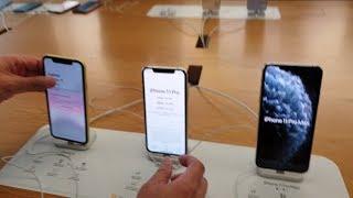 iPhone 11 Pro Vs iPhone 11 Vs Pro Max - Size Comparison
