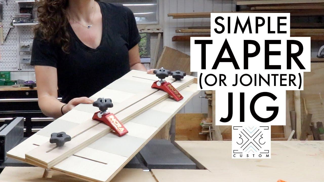 Taper Jig — 12x12 Custom