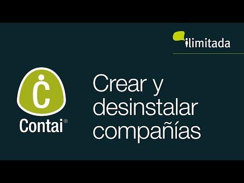 Contai® - Creación y des instalación de compañía
