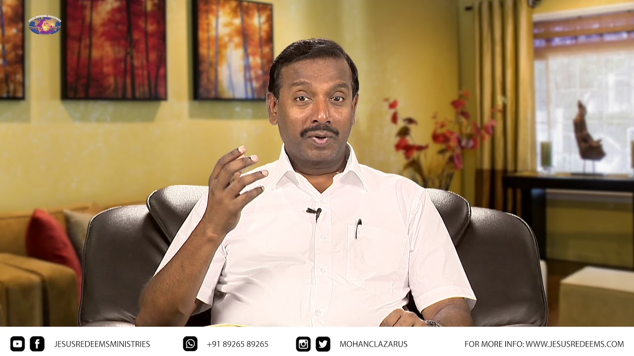 September Month Promise Message - 2018 | Bro Mohan C Lazarus