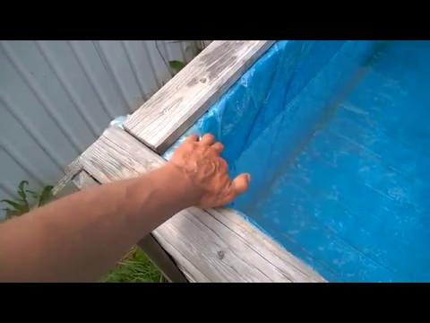 Как сделать бассейн на даче своими руками недорого видео