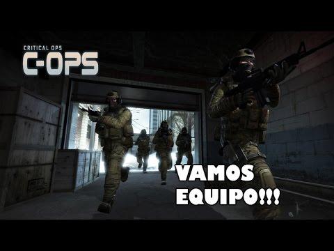 GRAY Y LOS OPERATIVES | CRITICAL OPS EN ESPAÑOL
