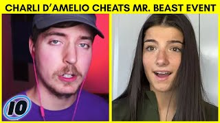 Charli D'Amelio Accused of Cheating in Mr. Beast Event
