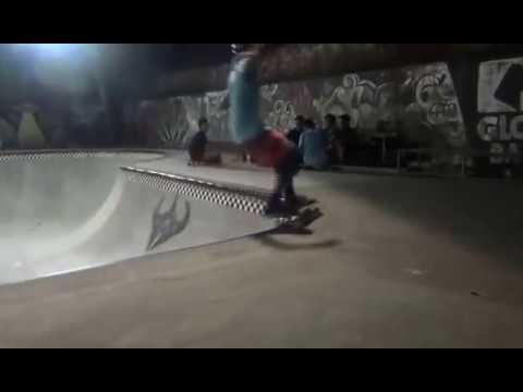 Ben Benson Skating Globe Bali