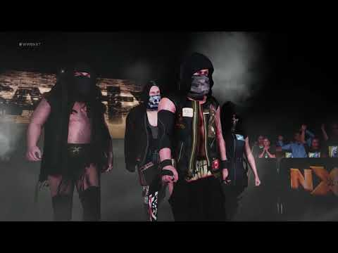 WWE 2K18 SAnitY entrance video