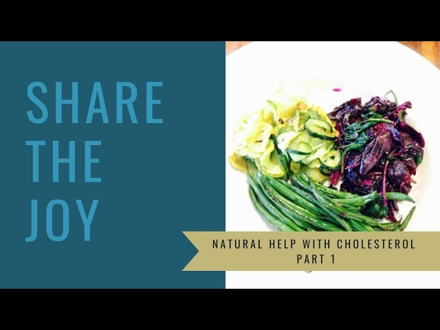 Share the Joy #115 Natural Help with Cholesterol Part 1
