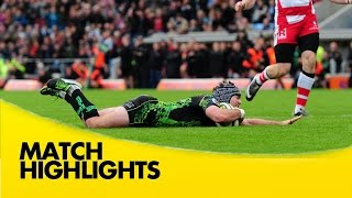 Exeter Chiefs v Gloucester - LV= Cup 2014/15