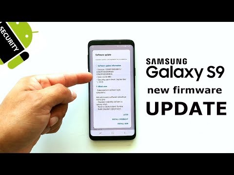 Samsung Galaxy S9 update rolling out with September 2018 security patch