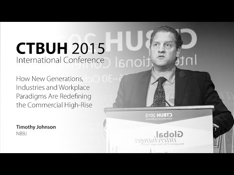 "CTBUH 2015 New York Conference - Timothy Johnson, ""New Industries and Paradigms"""