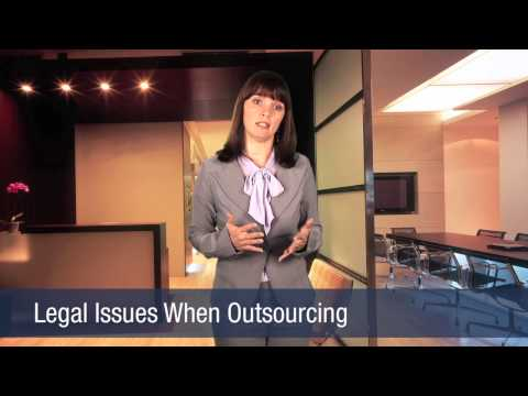 Legal Issues When Outsourcing