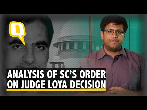 Is the Supreme Court Right to Refuse a Probe Into Judge Loya's Death?