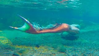 Mermaid Footage In The Secret Tropical River