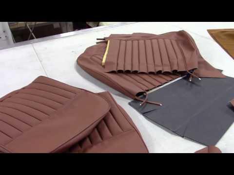 Jaguar XK 120 DHC Upholstery / Trim