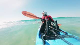 Back to Beach - Kayak Fishing Surf sessions