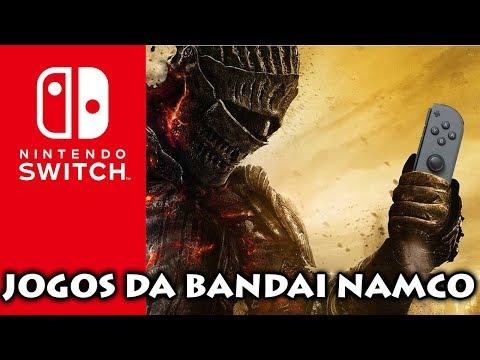 Nintendo Switch: RUMOR de vários jogos da BANDAI NAMCO para o console