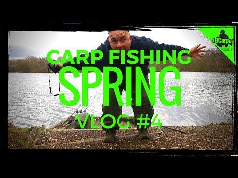 CARP FISHING IN SPRING - FISHING THE PARK LAKE - VLOG #4 😀