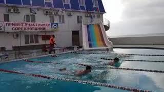 Мужчины брасс 50 м новогодний кубок по зимнему плаванию в Сукко 31.12.2019