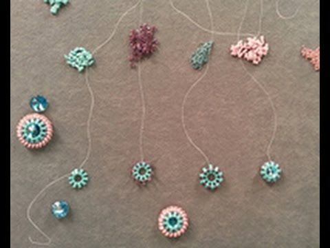 Cindy Holsclaw uses Half-Tila Beads to Make a Bezel ...