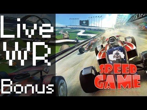 Speeeeeeed Game Hors-série: Live et WR TrackMania 2 Stadium, 7 Maps et un bonus :)