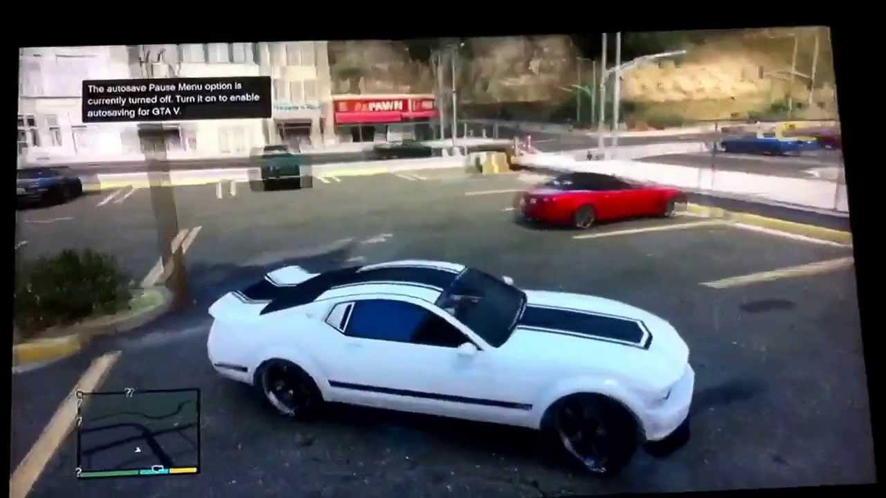 gta v mustang location images. Black Bedroom Furniture Sets. Home Design Ideas