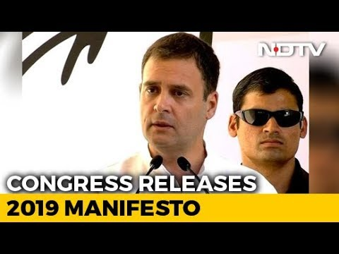 "Congress Manifesto Reflects ""Voice Of The People"", Says Rahul Gandhi Mp3"