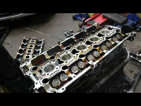 Volvo C70 5 Cylinder Turbo Engine Lets Tear It Down!  This Is What I Found