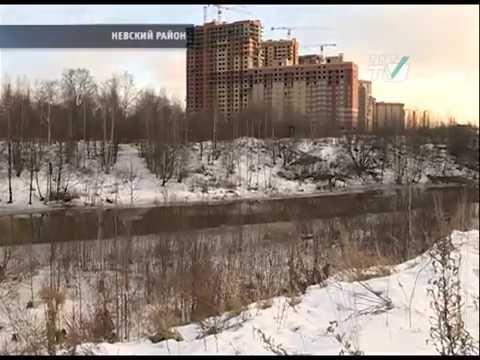 Жители Усть-Славянки требуют пешеходные мосты к ст. м.Рыбацкое
