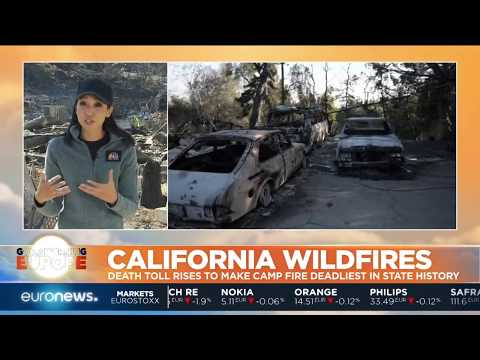 44 people have now died in California wildfires | #GME Mp3
