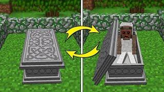 KORKUNÇ BÜYÜKANNE MEZARDA CANLANDI! 😱 - Minecraft