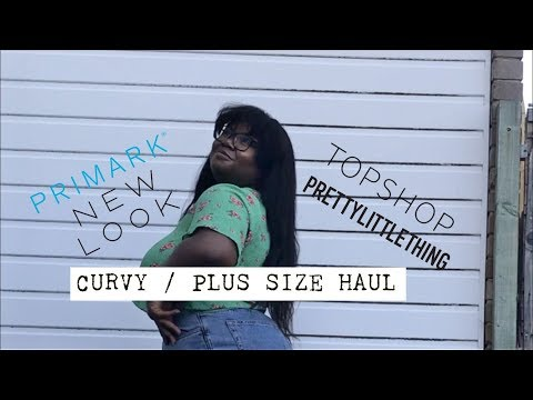 Curvy / Plus Size Try-on Haul (Primark,...