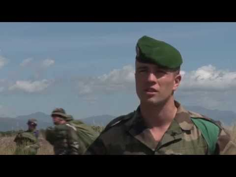 French Foreign Legion Trains with U.S. Army