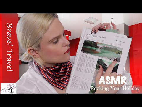 [ASMR] Travel Agent Roleplay ~ Typing, Mouse Clicking, Pencil Writing & Page Flipping