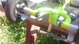 Ремонт детского велосипеда. Рулевое управление.
