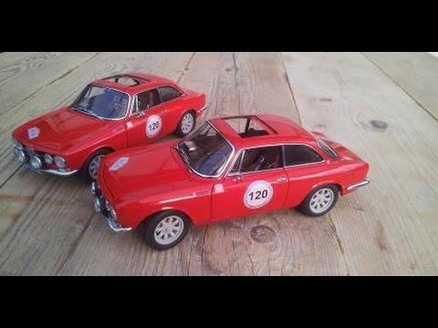 Alfa Romeo GTV SLS Classic Scale Model YouTube - Alfa romeo scale models