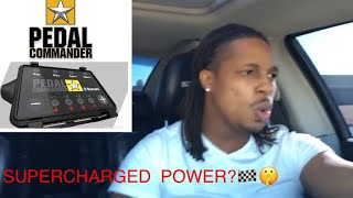 PEDAL COMMANDER REVIEW ON 07 CHARGER SRT8