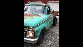 1965 Ford F-250 352 V8 Flat Bed Dual Exhaust