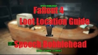 Fallout 4 Loot Location Guide || Speech Bobblehead: Vault 114