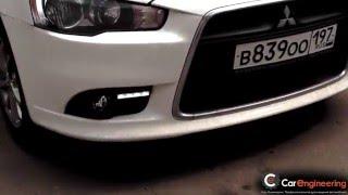 Mitsubishi Lancer X 2012+   дневные ходовые огни Phillips Edition