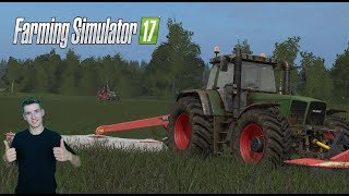 Farming Simulator 17 W pogoni za kasą #14 Koszenie zielonki na kasiorke :D