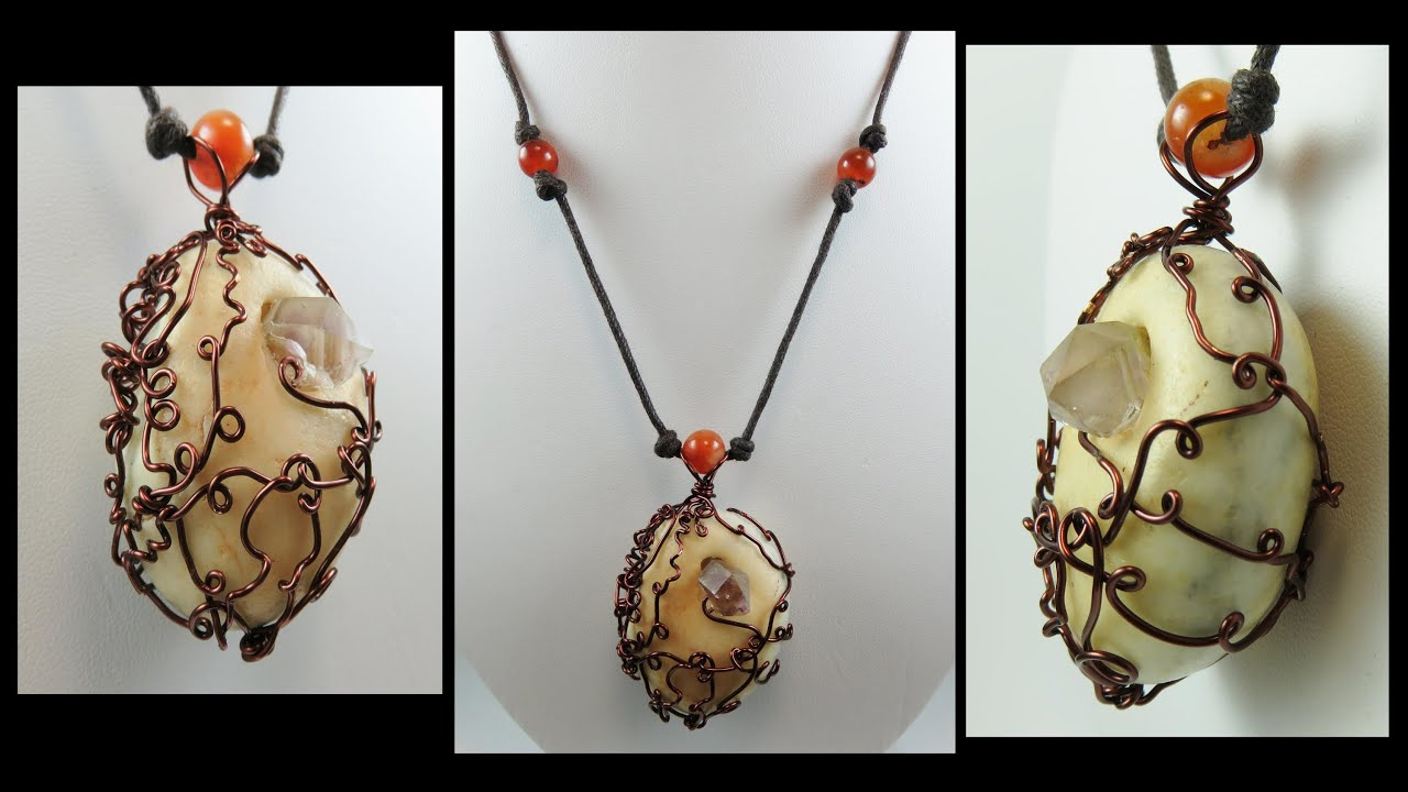 Jewelry Making Tutorial - The BASIC Devine Wrap | Liz Kreate - YouTube