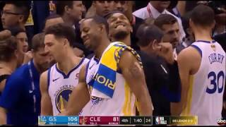 Cleveland Cavaliers vs Golden Sate Warriors NBA FINALS 2018 GAME 4 - 4th Quarter HIGHLIGHTS