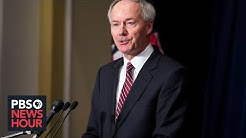 Why Gov. Asa Hutchinson says reopening Arkansas isn't to blame for rising COVID-19 cases