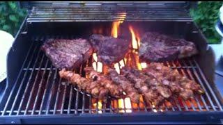 Afghan Kabab  - Afghan Bbq - Afghan Food -  Jamshid Parwani Parde Awal -    جـمشــيد پــروانـى