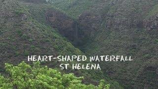 St Helena: Heart Shaped Waterfall