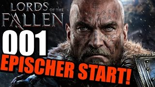 Lords of the Fallen Gameplay German PS4 Part 1 |  Let