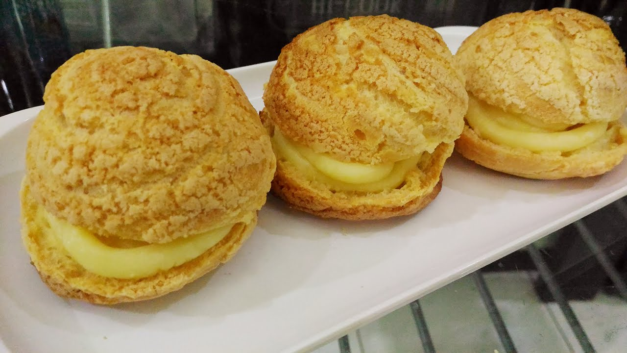 Resep Kue Sus Crunchy Crispy Choux Pastry Dan Super Yummy Youtube Cream Puff Recipe Pastry Choux Pastry